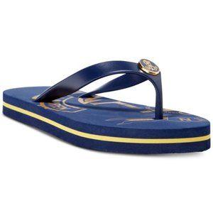 Lauren Ralph Lauren Elissa II Flip Flops, Blue